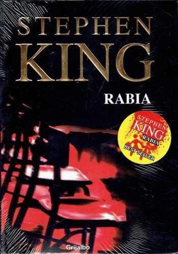 Rabia - stephen king - editorial grijalbo