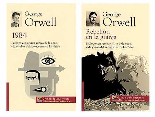Rebelión en la granja + 1984 g orwell