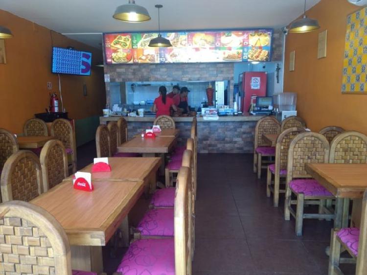 Traspaso franquicia tacos y parrilada, fray junipero