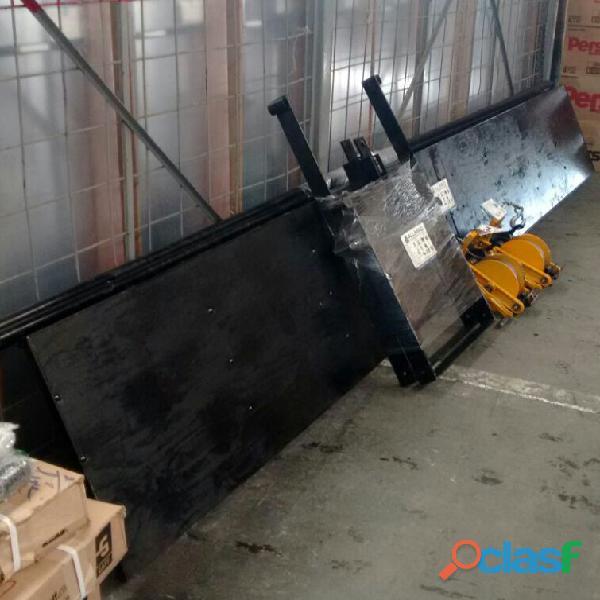 Hamaca para trabajo en alturas con malacate manual de 50 y 100 mts de cable