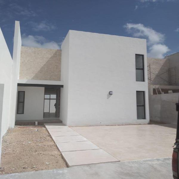 Casa en venta en Mérida Real Montejo 2 plantas 3 recámaras