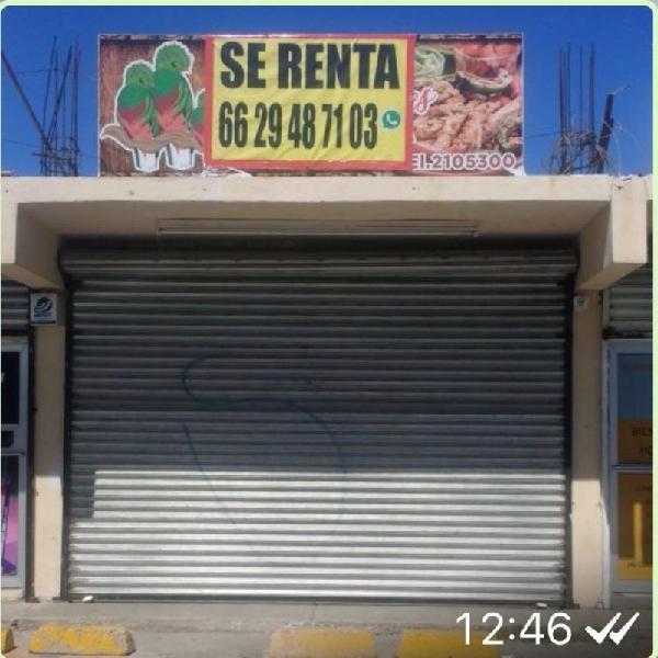 Local renta balderrama, hermosillo