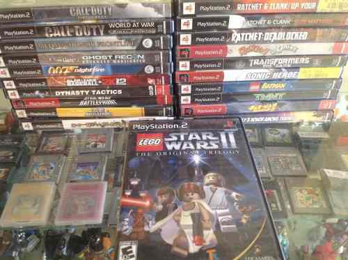 Lego star wars ll the original trilogy. ps2 video tano