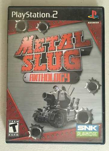 Metal slug anthology para tu playstation 2 / ps2.