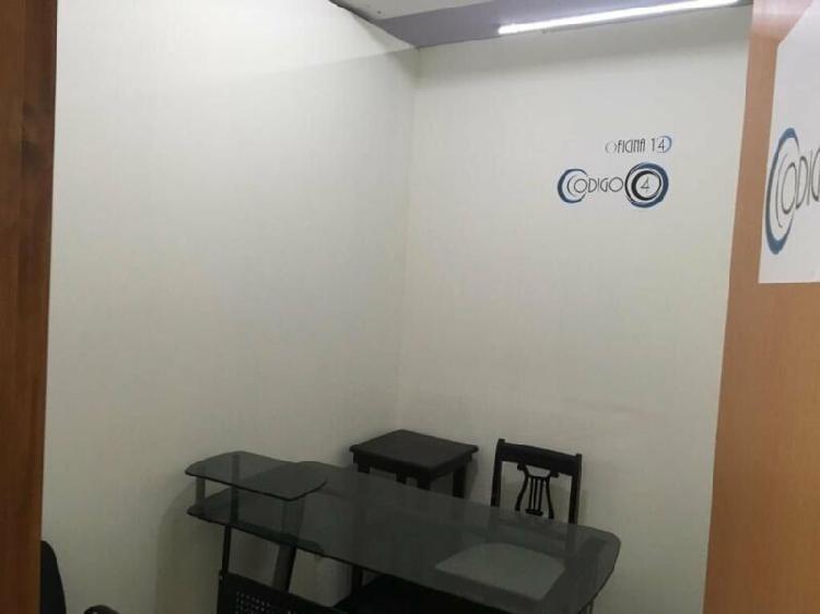 Oficina amueblada roma norte /