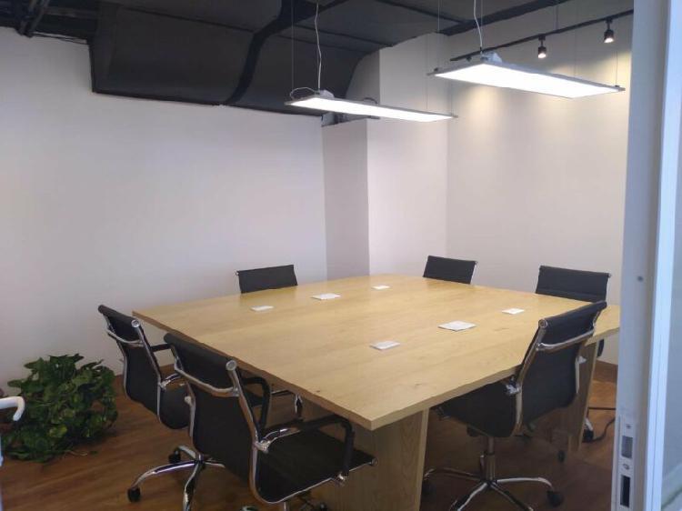 Oficinas equipadas y coworking. (diferentes paquetes)