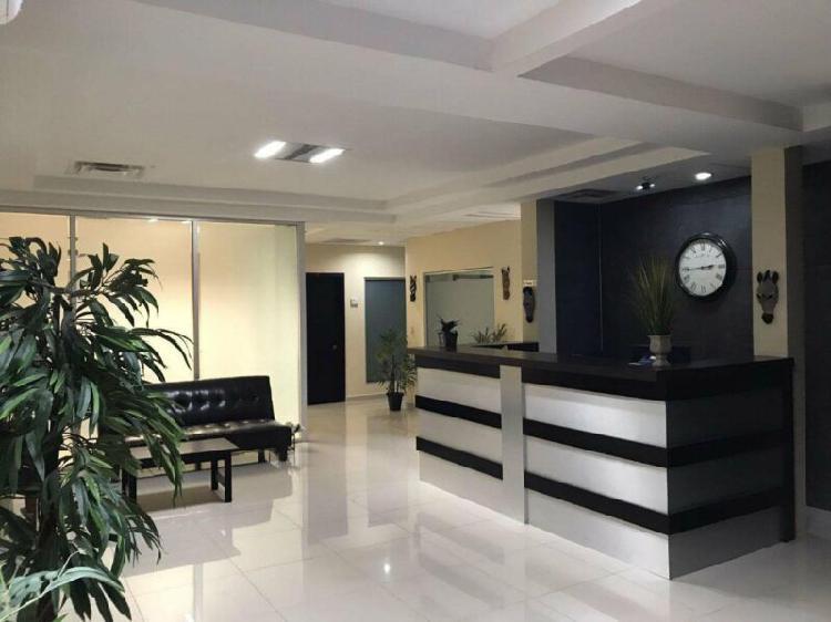 Rento oficinas amuebladas en zona rio a pasos de glorieta
