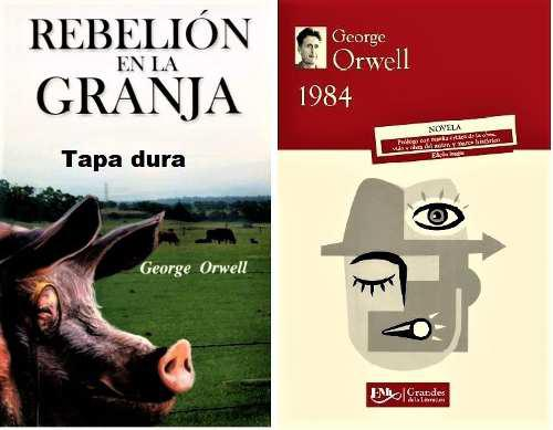 1984 + rebelión en la granja (tapa dura) george orwell