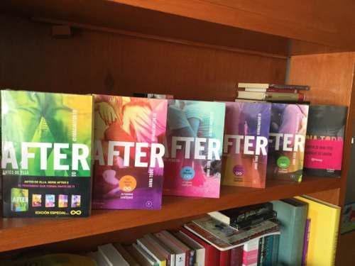 After, anna tood saga completa 8 libros envío gratis