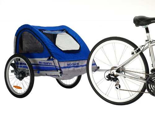Carreola doble y remolque para bici carriola schwinn vbf