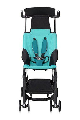 Carriola ligera plegable gb pockit stroller -celeste