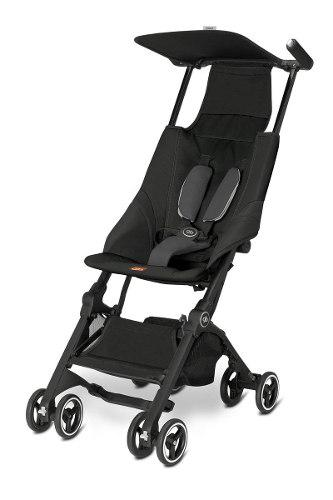 Carriola ligera plegable gb pockit stroller -negro