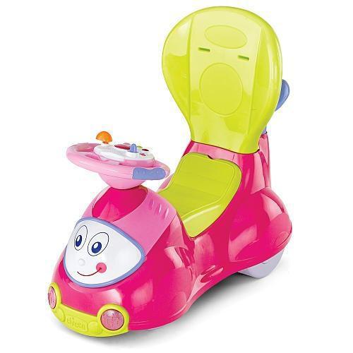 Chicco 4 en 1 paseo en el coche - rosa