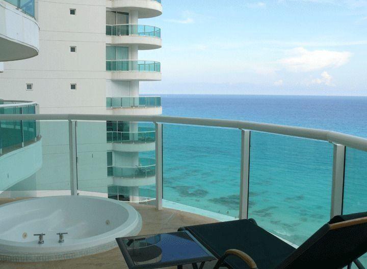 Hermoso condominio junto al mar en cancun / beautiful beach