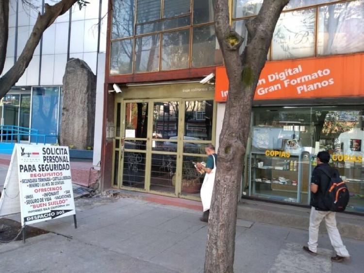 Oficina en renta a una cuadra hospital dalinde rom