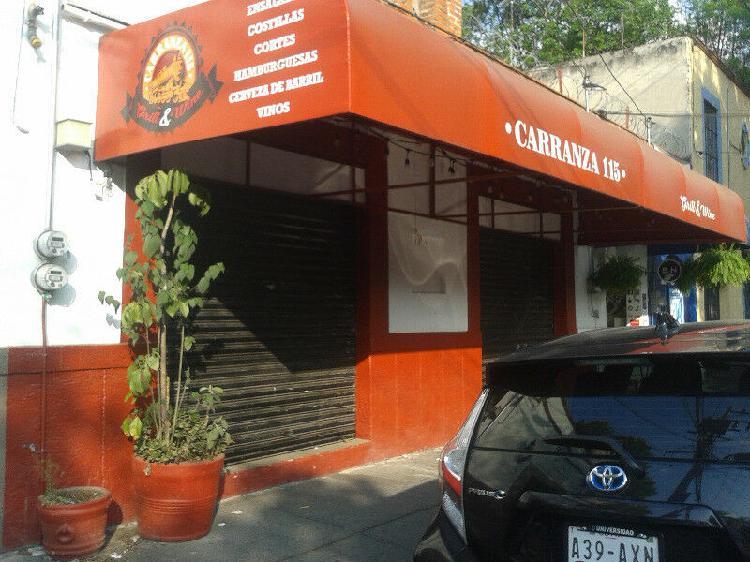 Restaurante en coyoacán