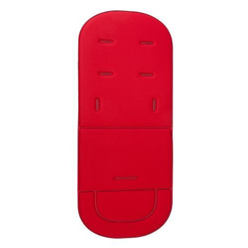 Silla de paseo asiento coche transpirable algodón luz roja