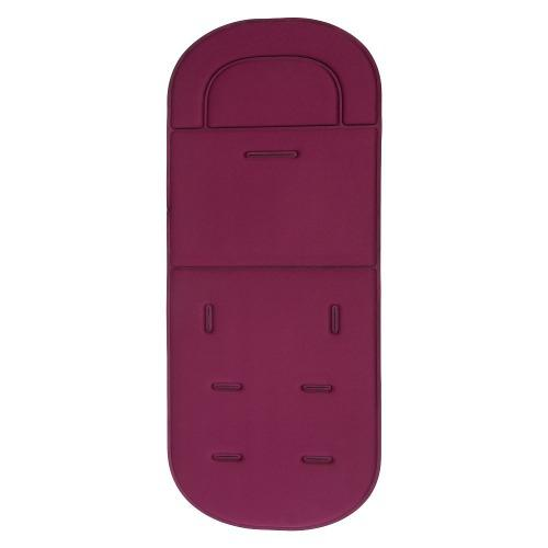 Silla de paseo asiento coche transpirable algodón rojo