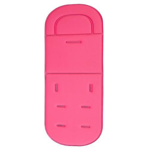 Silla de paseo asiento coche transpirable algodón rosa