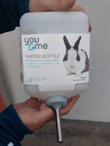 Bebedero jumbo para conejo o cuyo 2 litros balín