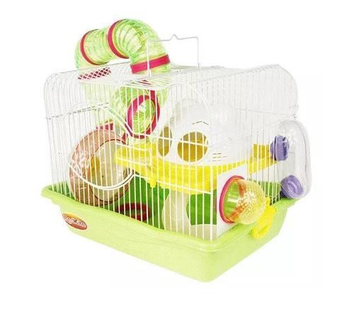 Jaula hamster fresno 1 todos los accesorios 35.5x26.6x27.5cm
