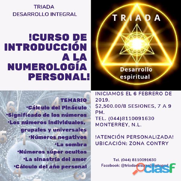 Curso de introducción a la numerología personal
