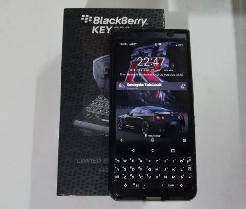 Blackberry keyone dual sim black edition 64gb seminuevo