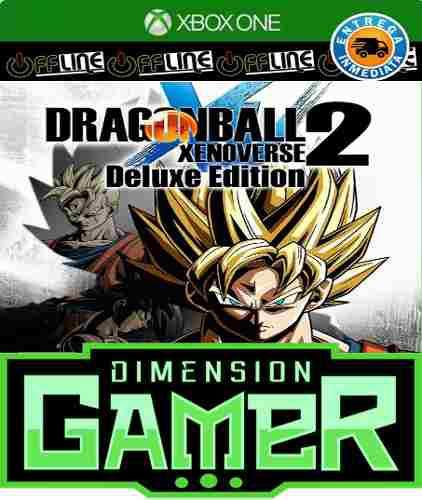 Dragon ball xenoverse 2 deluxe e xbox one no codigo offline