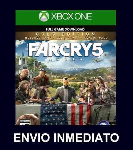 Far cry 5 edición oro + far cry 3 + zombies xbox one