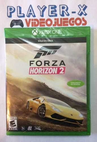 Forza horizon 2 xbox one nuevo sellado en español