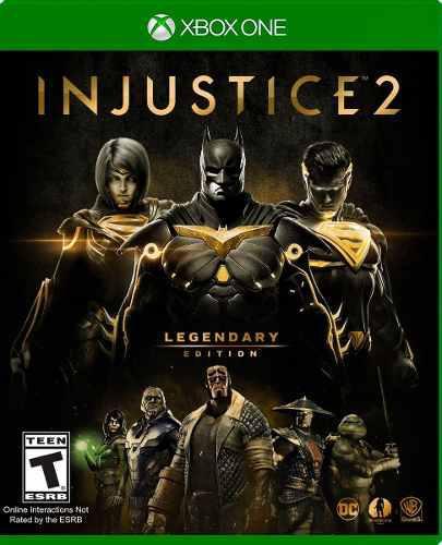 Injustice 2 legendary edition en xbox one. nuevo y sellado.