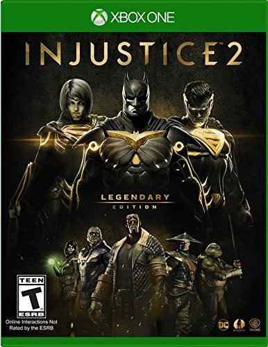 Injustice 2 legendary edition xbox one nuevo d3 gamers