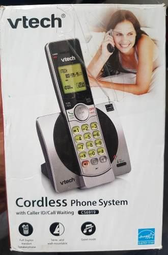 Sistema de telefono inalambrico con identificador de llamada