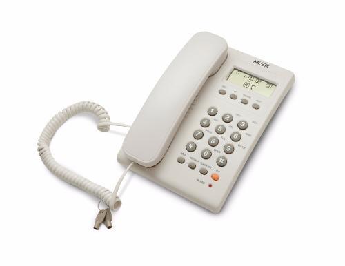 Telefono alambrico identificador bloqueo llamadas misik 883