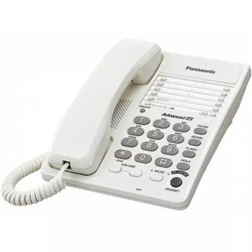 Telefono alambrico panasonic altavoz memo pausa kxts108mew
