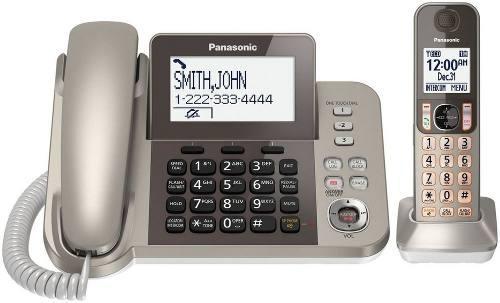 Telefono Alambrico/inalambrico Panasonic Kx Tgf350-1 Dect6.0