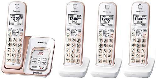 Telefono inalambrico cuadruple panasonic tgd564g bluetooth