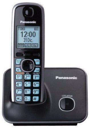 Telefono inalámbrico dect pantalla lcd id azul altavoz