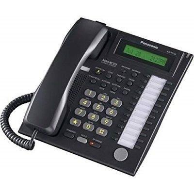 Telefono panasonic multilinea kx t7730 nuevo negro !