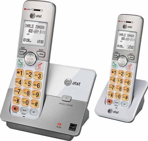 Telefonos inalambricos at&t el51203 2 handsets