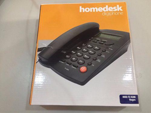Teléfono alambrico inteligente ideal para casa u oficina