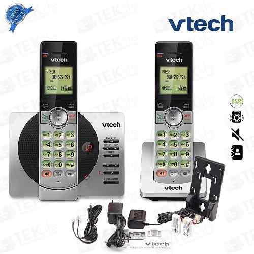 Teléfonos inalámbricos doble contestadora id vtech 6929-2