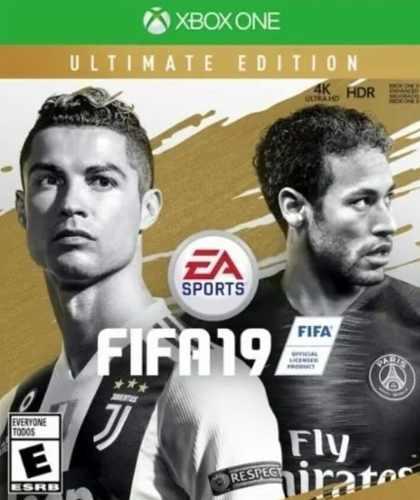 Xbox one videojuego fifa 19 ultimate edition