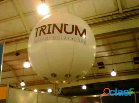 Esferas gigantes para helio