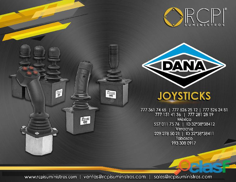Joysticks para grúas industriales