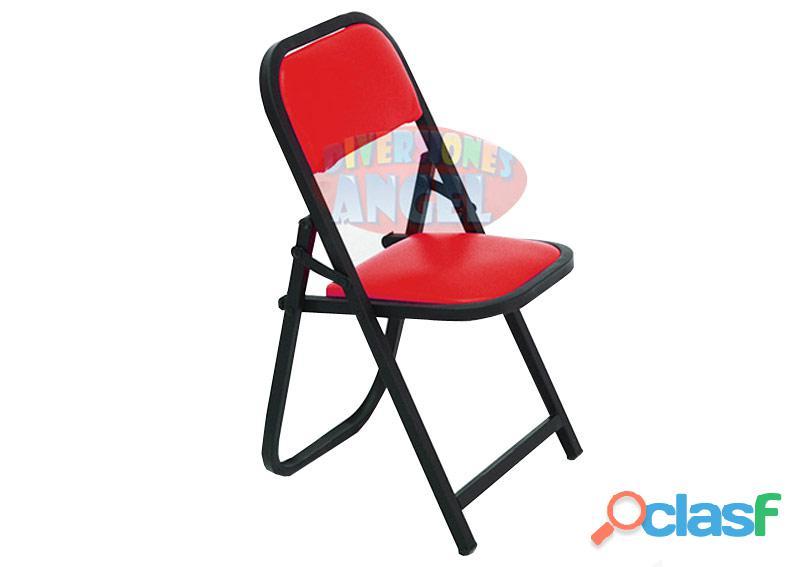 Venta de sillas acojinada esmaltada plegable infantil