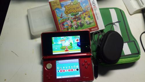 3ds con juegos y accesorios