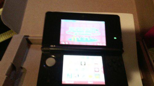 Nintendo 3d sd color negro