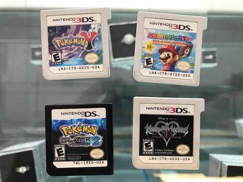 Nintendo 3ds clásico y 4 juegos