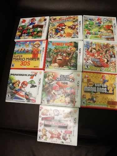 Nintendo 3ds (juegos)